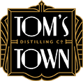 Tom's Town Distillery logo