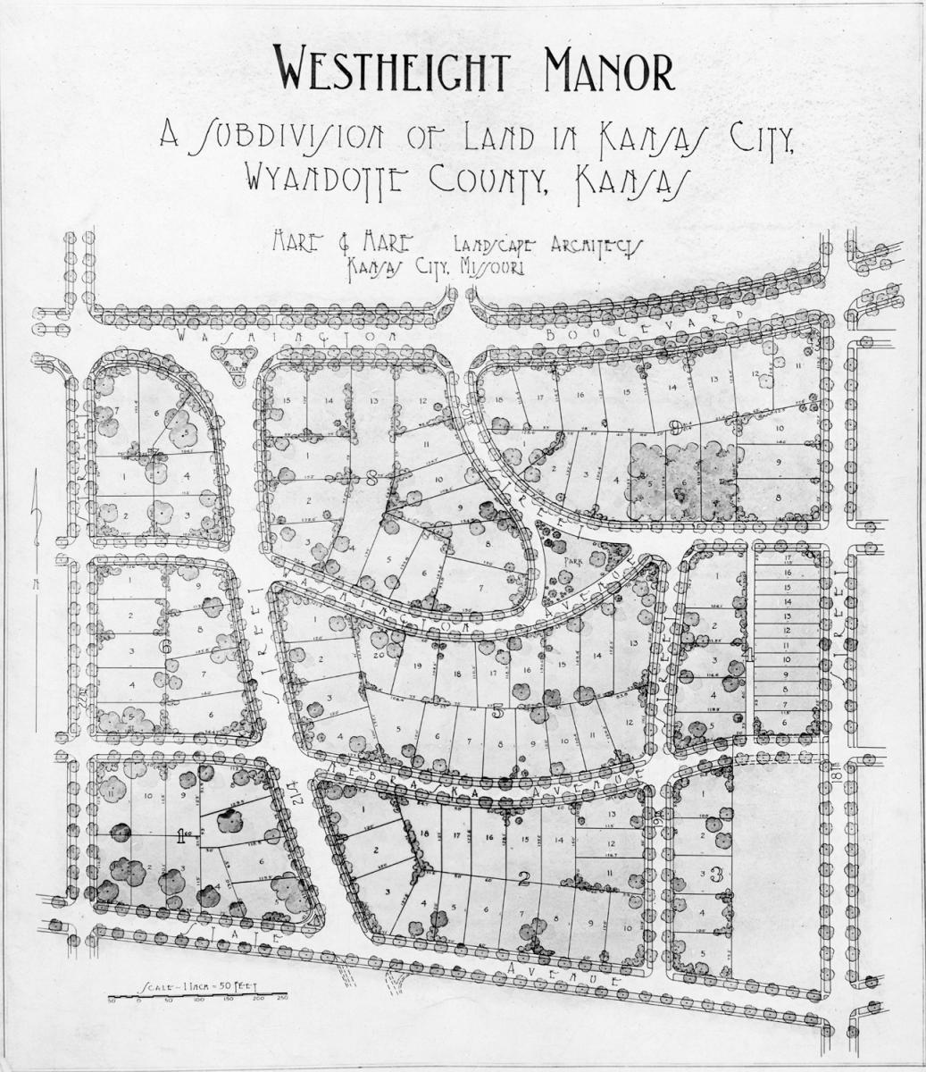 Westheight Manor neighborhood map