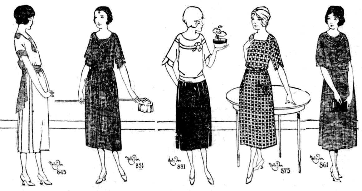 Nelly Don Dresses, 1920