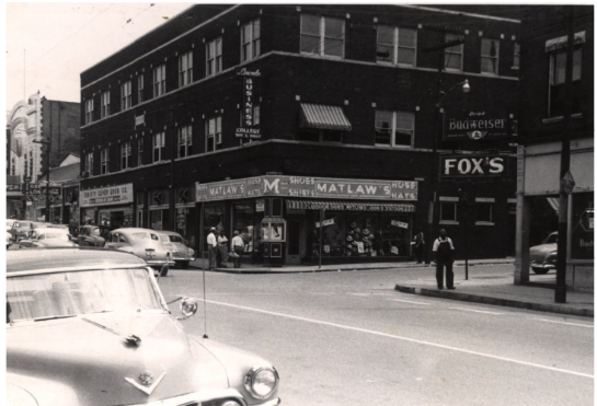 18th and Vine. Courtesy of the Marr Sound Archives, UMKC.