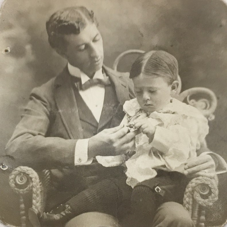 Carleton And His Father Claude, UMKC