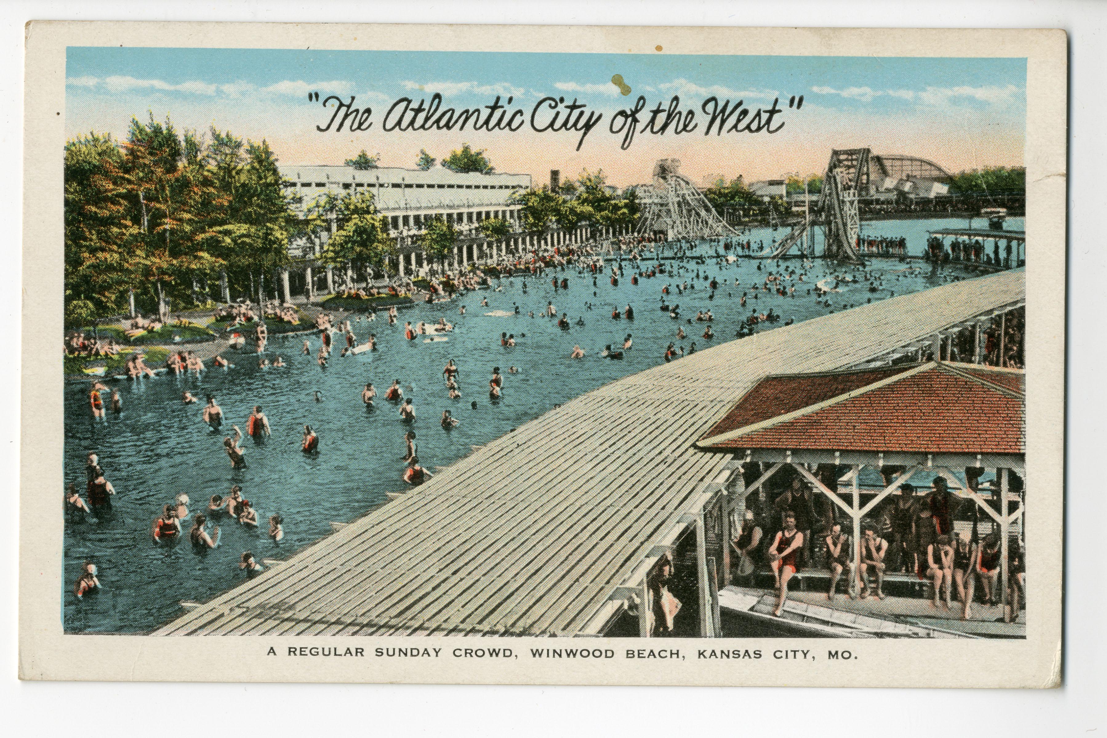 The Atlantic City Of West Winnwood Beach Kansas Mo Pendergast Years