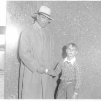 Jack Dempsey and boy