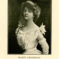 City Directory Portrait of Marie Anderson