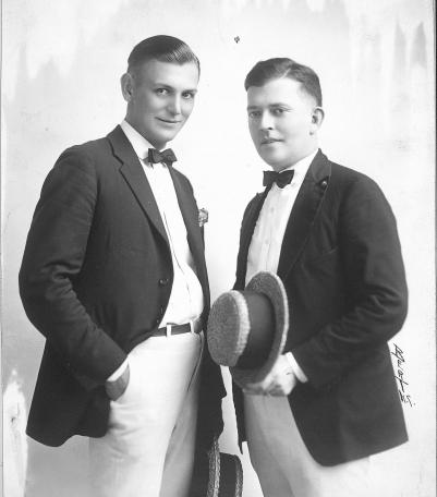 Carleton Coon and Joe Sanders