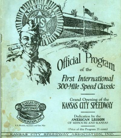 Grand Opening of the Kansas City Speedway
