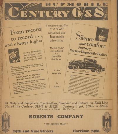 Roberts Co. Advertisement