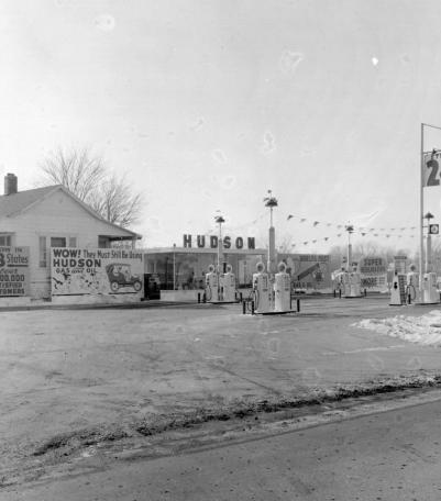Hudson Oil station
