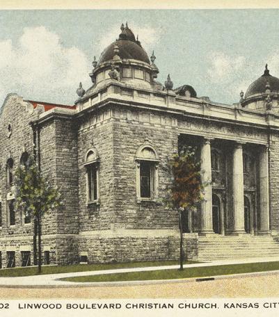 Postcard of the Linwood Boulevard Christian Church