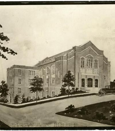 Rendering of Paseo Baptist Church