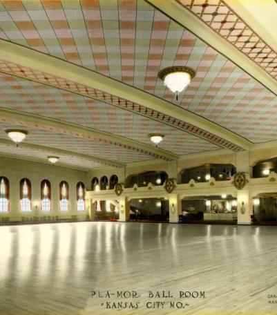Rendering of the interior of Pla-Mor ballroom