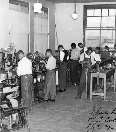 R.T. Coles classroom