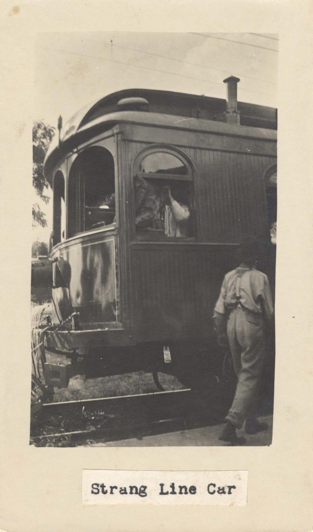 Strang Line Car