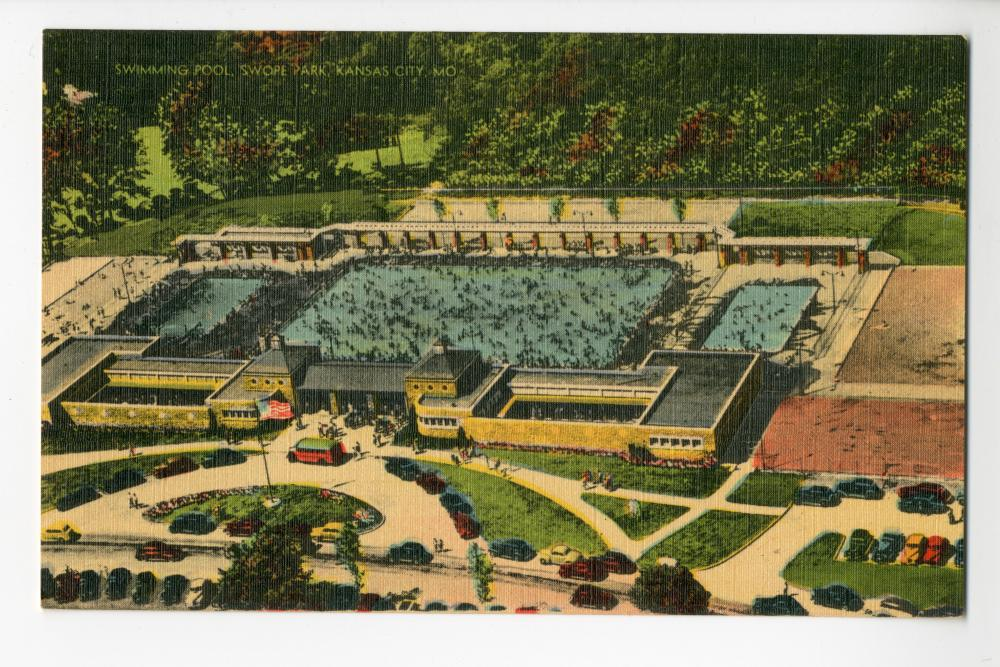 Swimming pool swope park kansas city mo the pendergast years for Public swimming pools kansas city