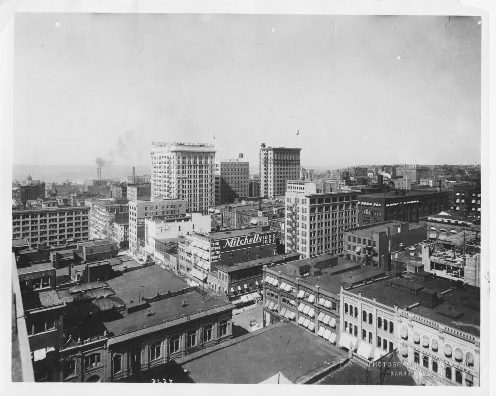 Downtown Kansas City, circa 1915