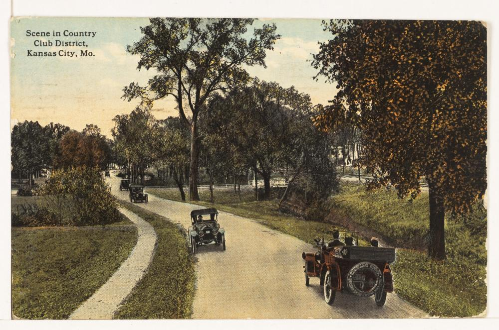 Postcard of the Country Club district