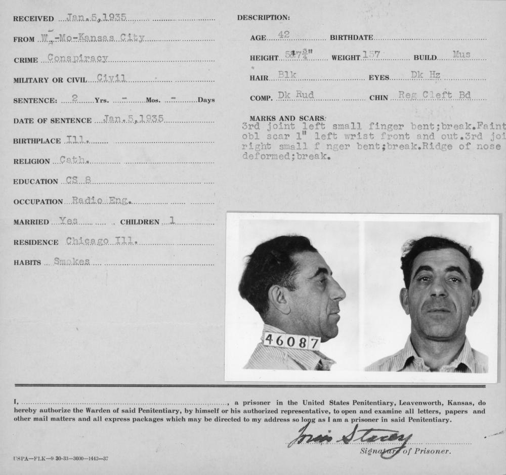 Louis Stacci Inmate File: Mugshot and Fingerprints | The