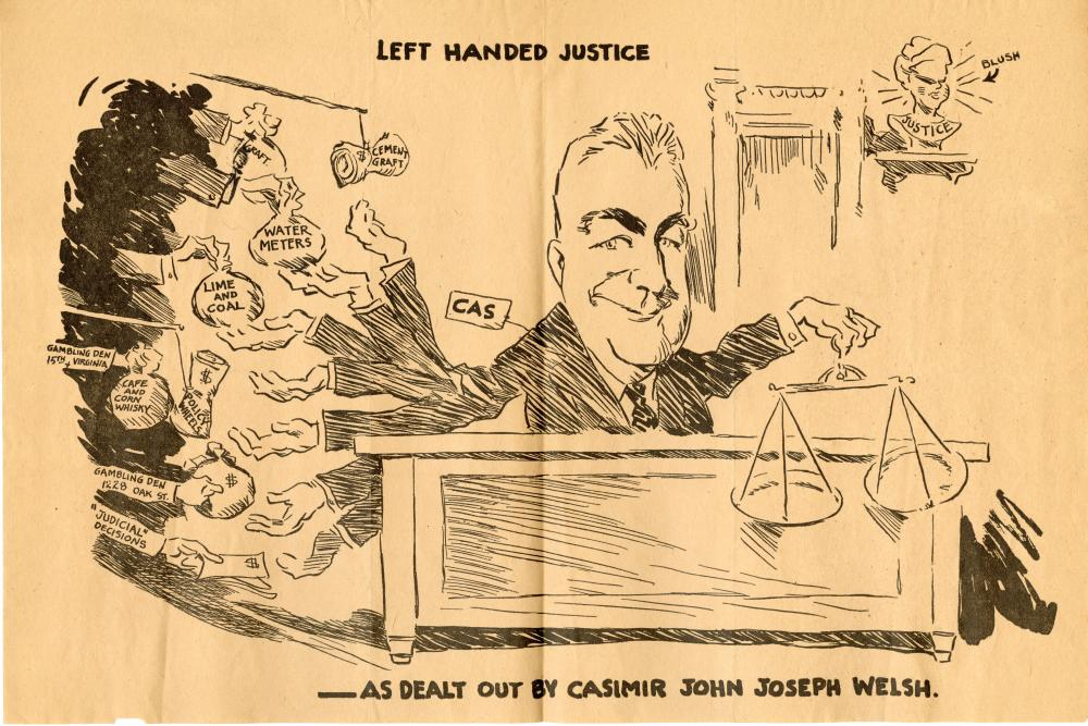 Casimir Welch's Left Handed Justice