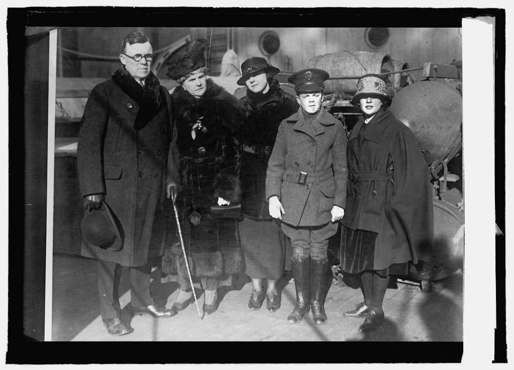 Photograph of Frank P. Walsh and Family