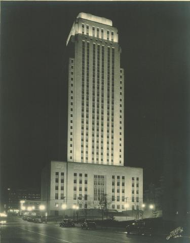 City Hall (12th Street) circa 1937