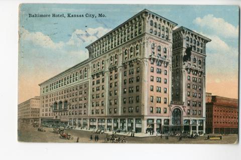 Baltimore Hotel Kansas City Mo