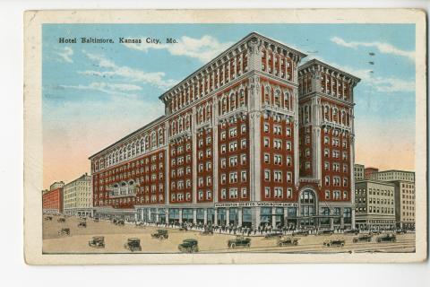 Hotel Baltimore Kansas City Mo