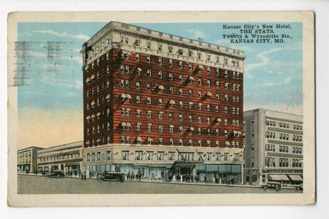 The Stats Twelfth Wyandotte Sts Kansas City Mo